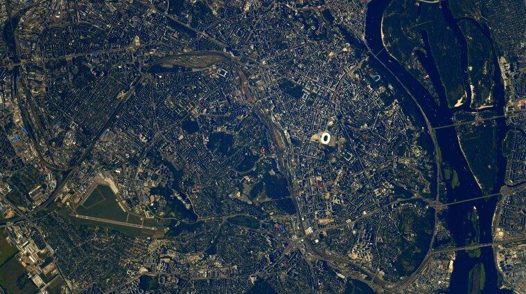 Астронавт ESA показав, як виглядає Київ з космосу - фото