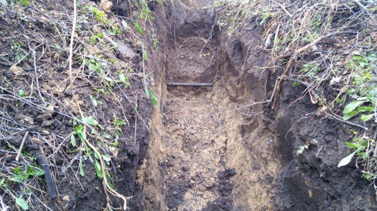 В Одесской области на границе с Молдовой нашли подпольный трубопровод