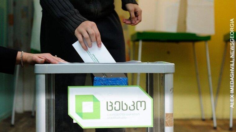 У Грузії відбуваються місцеві вибори: Саакашвілі записав звернення