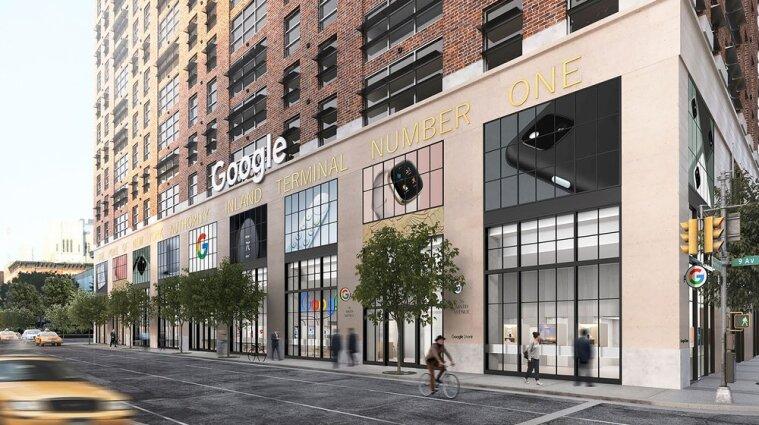 У США компанія Google відкриє постійний роздрібний магазин