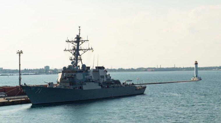 """Россия пытается противодействовать международным обучением """"Sea Breeze-2021"""" в Черном море"""