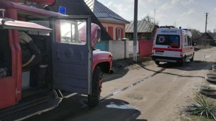 В Черкасской области произошел пожар: погибли три человека, из них двое детей