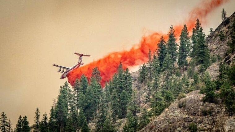 У Канаді через лісові пожежі евакуйовують сотні людей