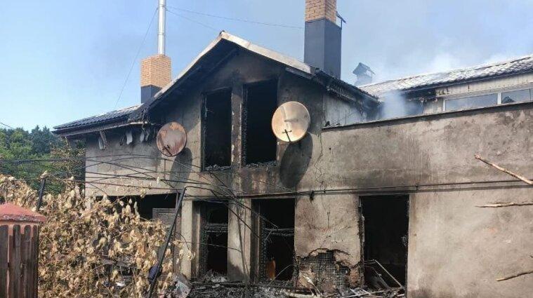 Авіакатастрофа на Прикарпатті: у будинку були жінка та діти