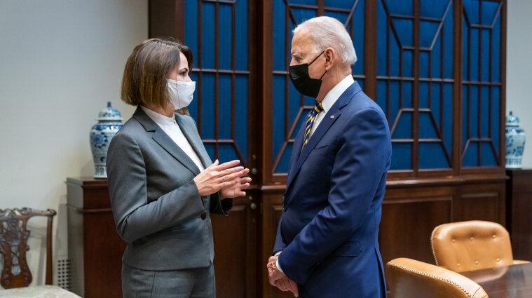 Президент США встретился в Белом доме с лидером белорусской оппозиции
