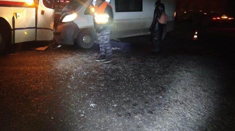 Рейсовий автобус потрапив у ДТП в Харківській області: є постраждалі