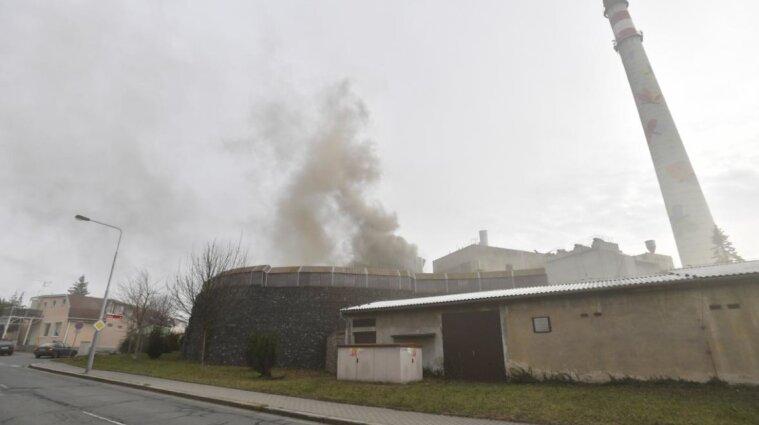 В чешском Колине произошел взрыв на электростанции - видео