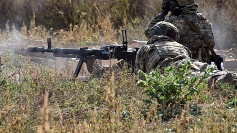 Оккупанты обстреляли украинские позиции: ранен военный