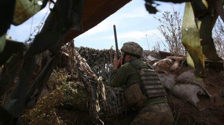 Боевики на Донбассе убили украинского бойца