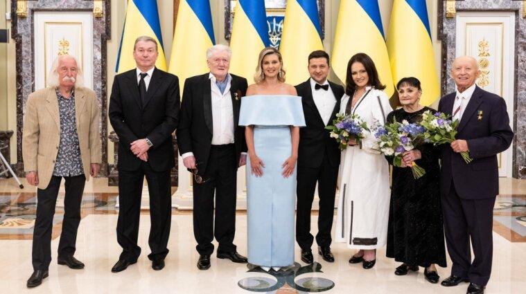 """Перших """"національних легенд"""" нагородили в Україні новими відзнаками - фото"""