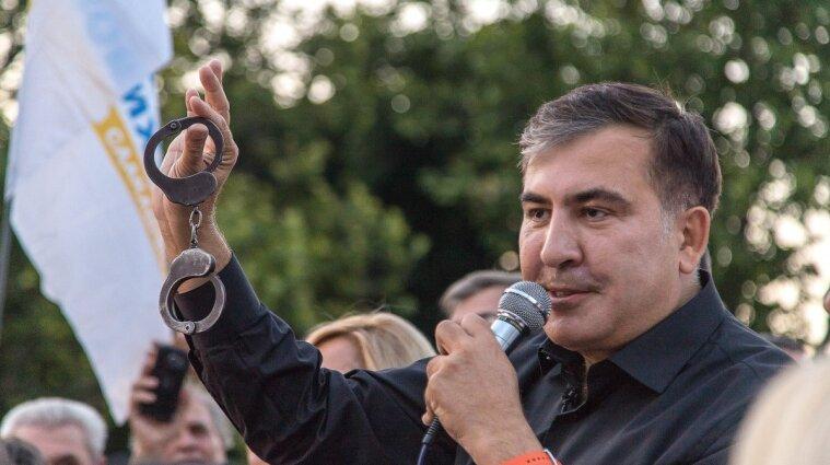 Я фактически являюсь личным узником Путина - Саакашвили обратился к Зеленскому