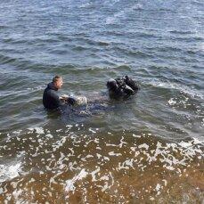 Знайшли тіло чоловіка, який разом з дітьми потонув на Київському водосховищі