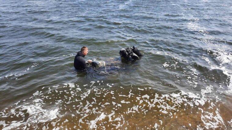 Нашли тело мужчины, который вместе с детьми утонул на Киевском водохранилище