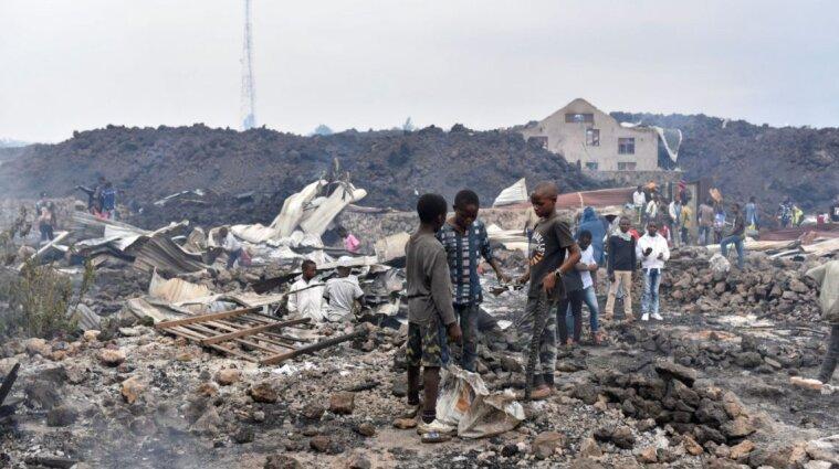 У Конго лава зійшла з вулкану та знищила навколишні села: евакуювали тисячі людей