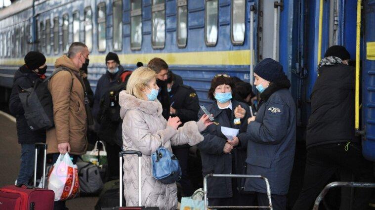 Укрзалізниця та Нацполіція перевіряють дотримання карантину в потягах
