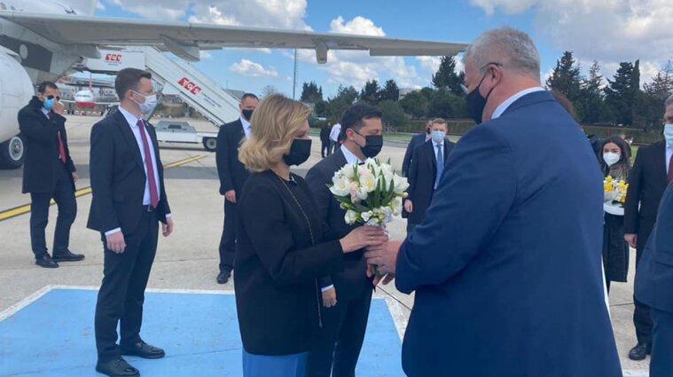 Зеленський розпочав візит до Туреччини (фото)