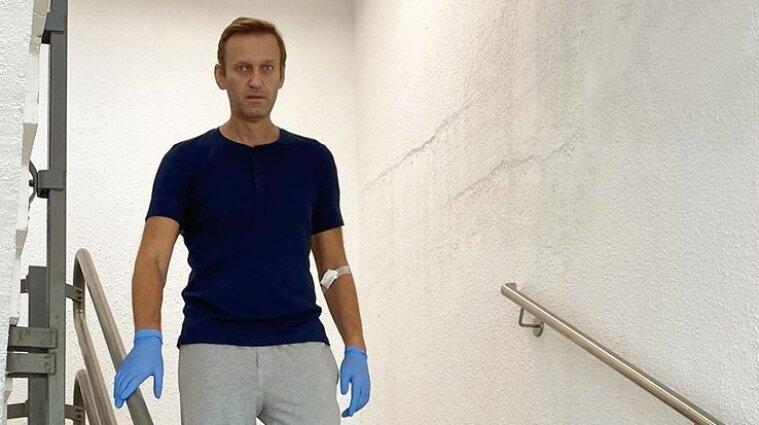 Навальний розповів, як триває процес його одужання