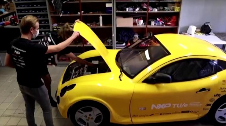 Нідерландські студенти побудували електромобіль з переробленого матеріалу