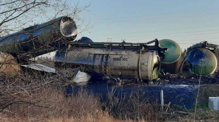 У Росії зійшли з рейок 35 вагонів палива: є жертви