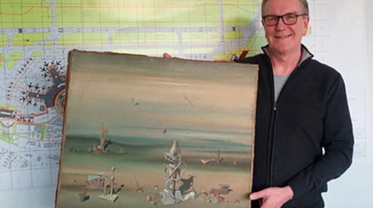 Картину за мільйони евро знайшли на смітнику