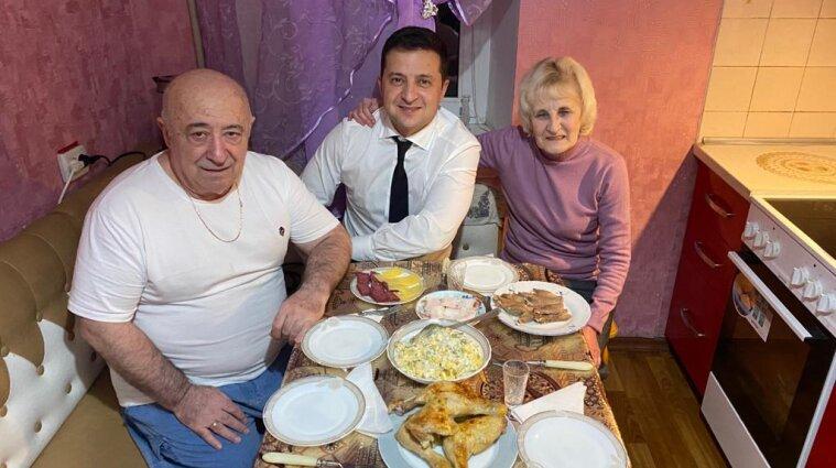 Батько Зеленського з'явився в Instagram - фото