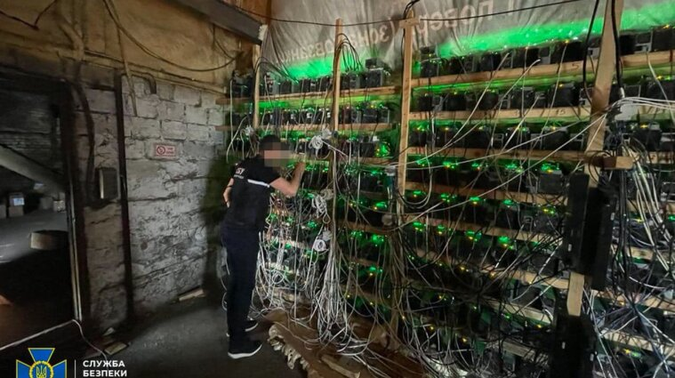 Криптовалюту добували з трансформатора: СБУ знайшла майнінг-ферму