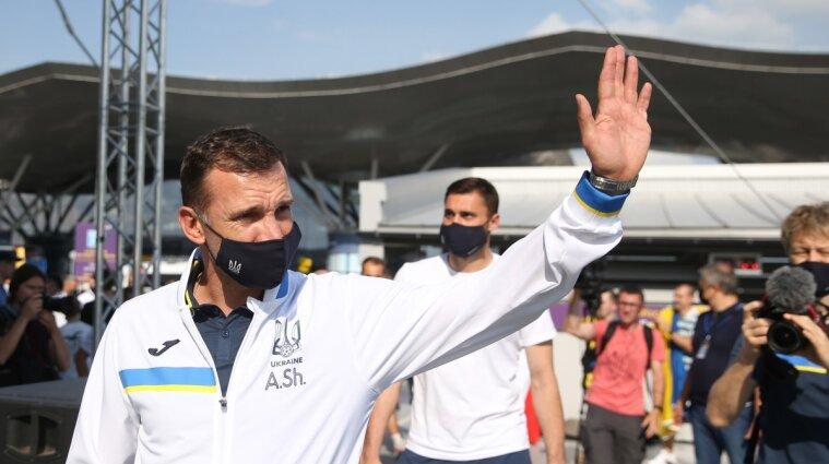 Шевченко йде з посади тренера збірної України