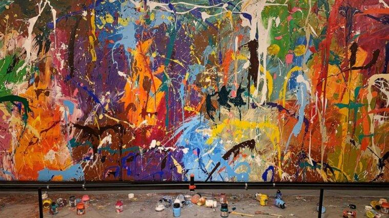 У Сеулі відвідувачі виставки домалювали картину за 440 тис. доларів