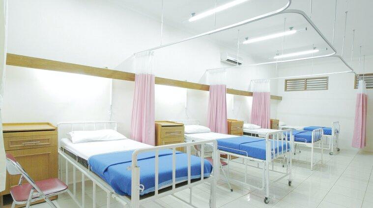 В Украине больничные койки для пациентов заполнены на 70%