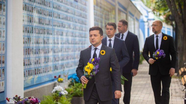 Зеленский почтил память погибших защитников Украины в Иловайской трагедии