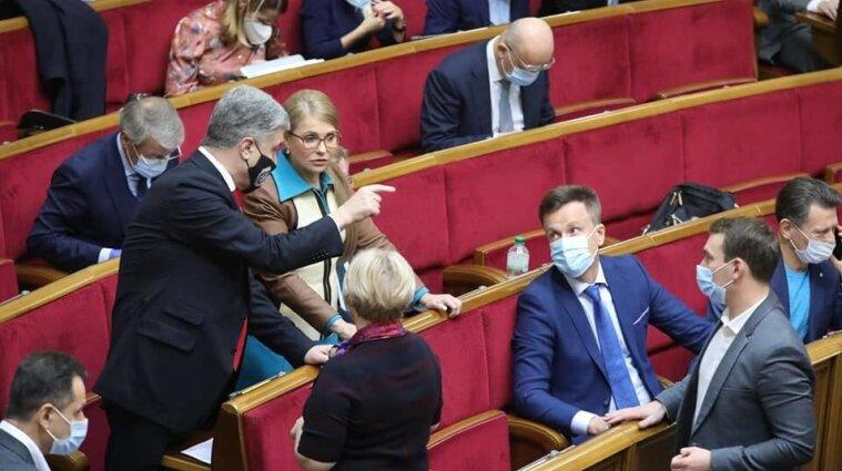 Три парламентські фракції вимагають скликати позачергове засідання через коронавірус (відео)