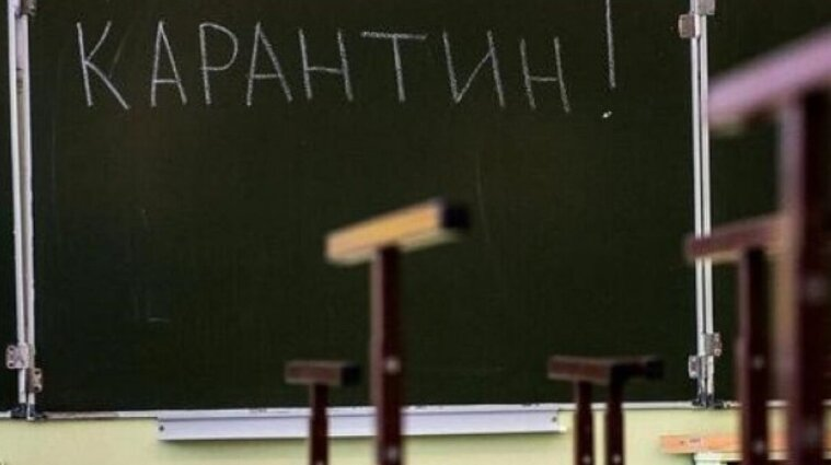 Стало відомо, скільки шкіл та класів у Києві закрили на карантин через коронавірус