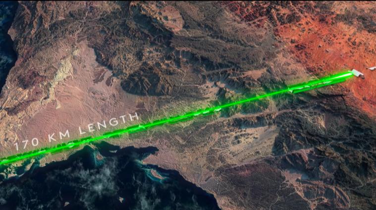 У Саудівській Аравії побудують місто-мільйонник без доріг