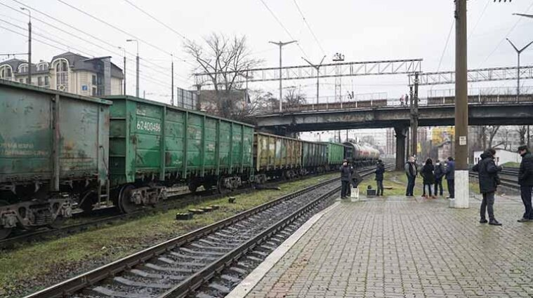 В Тернополе поезд сбил человека насмерть