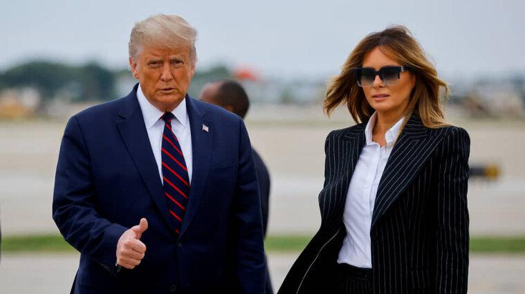 У Трампа з дружиною підтвердили коронавірус