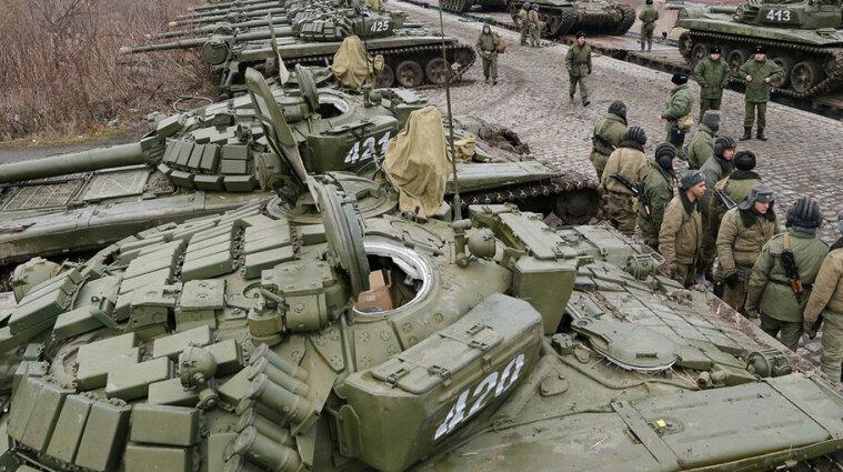 Росія облаштувала військовий табір поблизу кордону з Харківщиною та Луганщиною