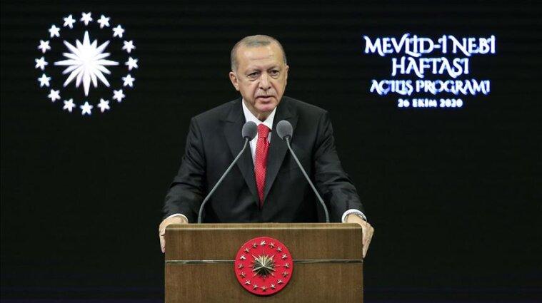 Ердоган закликав турецький народ відмовитися від французьких товарів