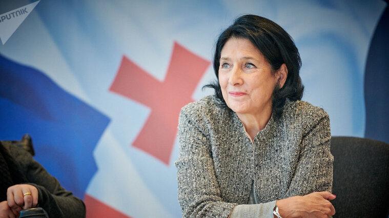 Президентка Грузії прибула на зустріч з Зеленським