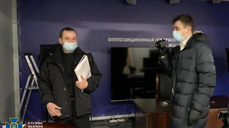 После обысков в офисах Медведчука три человека получили подозрения