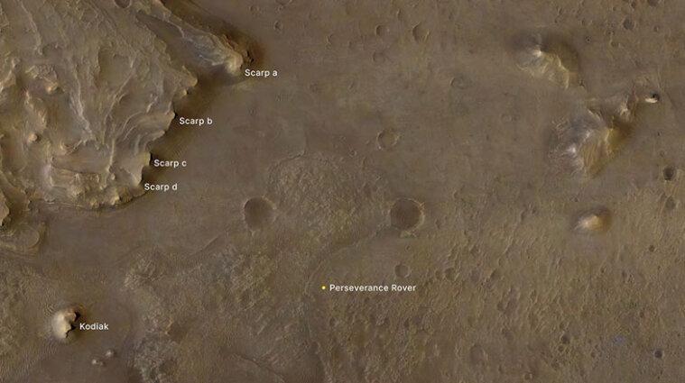 Марсохід Perseverance знайшов сліди давнього життя
