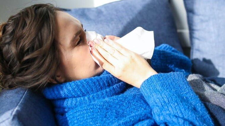 В Києві грип та ГРВІ перевищили епідпоріг на 19,5%