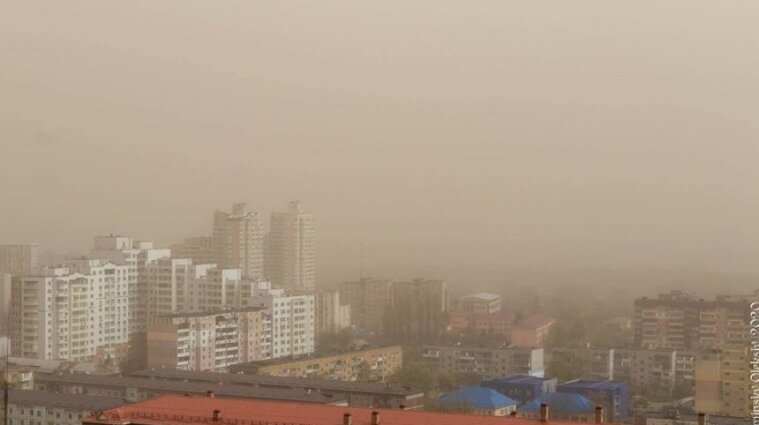 Україну накриває пилова хмара з Сахари