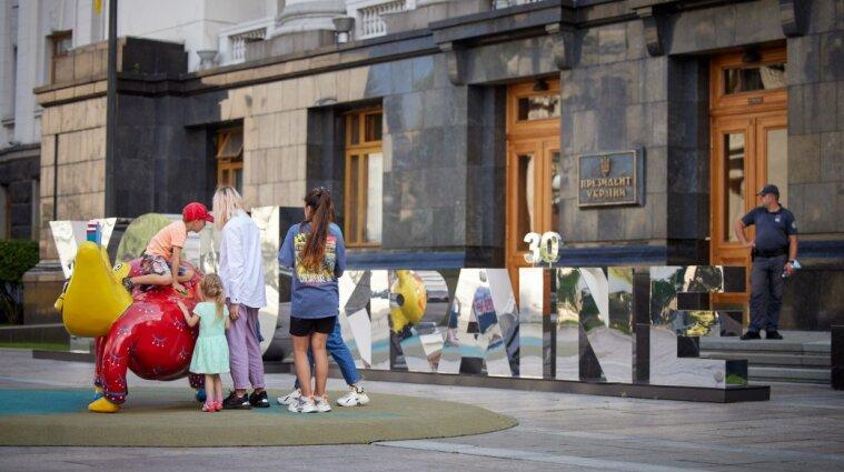 Детский инклюзивный арт-майданчик заработал под Офисом президента - фото