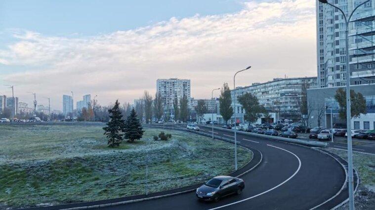 Автомобільну розв'язку-довгобуд відкрили у Києві - фото