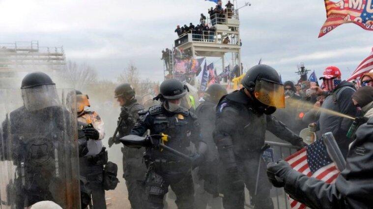 Протести біля Капітолію США: кількість жертв зросла до п'яти