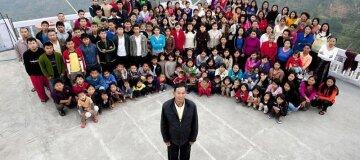 """Имел 38 жен и 89 детей: В Индии умер глава """"крупнейшей семьи в мире"""""""