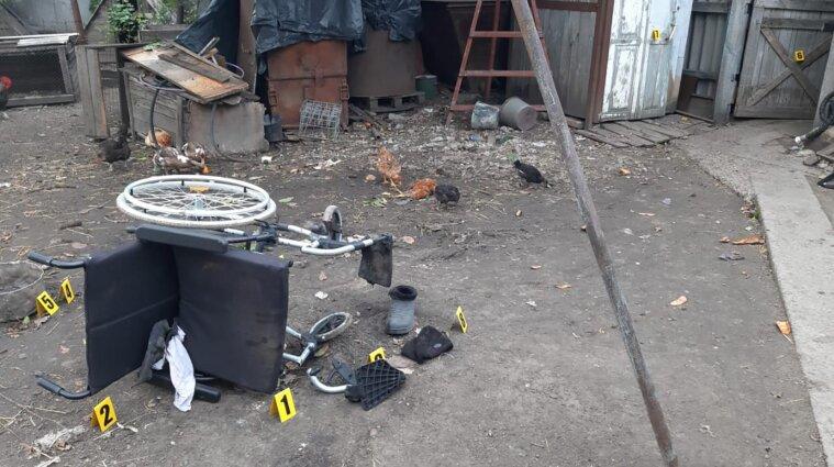 На Запорожье взорвался мужчина с инвалидностью: он в критическом состоянии