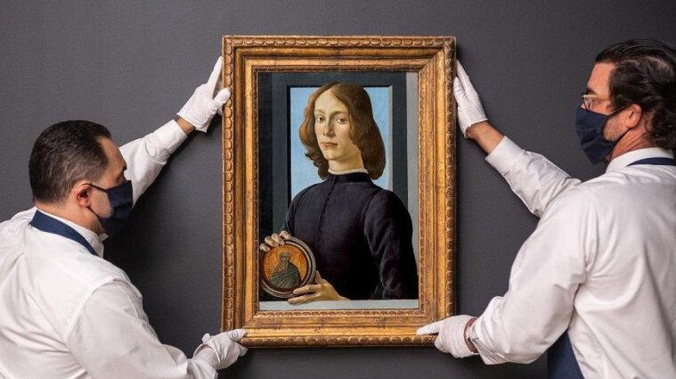 Картину Боттічеллі продали за 92 мільйони доларів на аукціоні