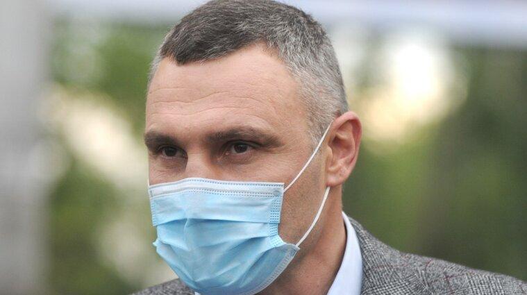 Кличко настаивает на общенациональном локдауне в Украине