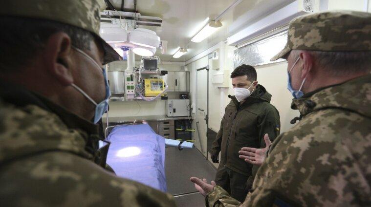 Зеленський поїхав до українських захисників на кордон із Кримом